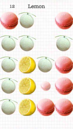レモン メロン マカロン6
